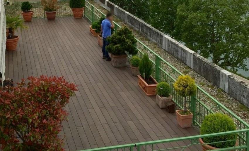 Terrasse & palissade composite lameo