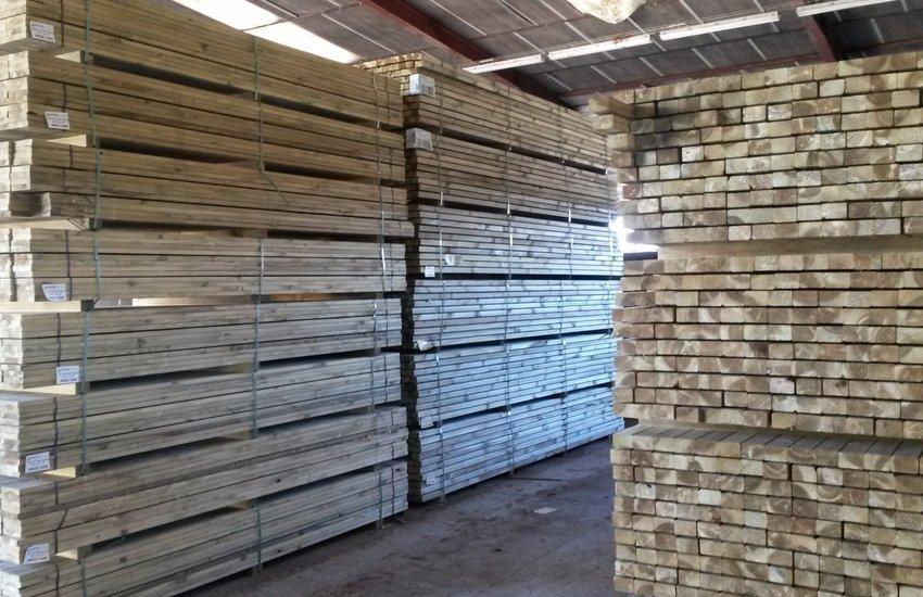 Bois de structure pin autoclavé classe 4